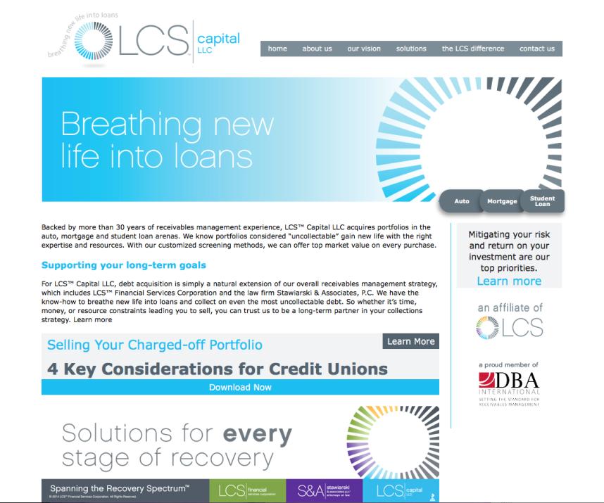 LCS capital website
