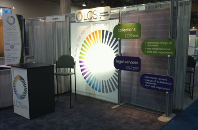 LCS Tradeshow booth