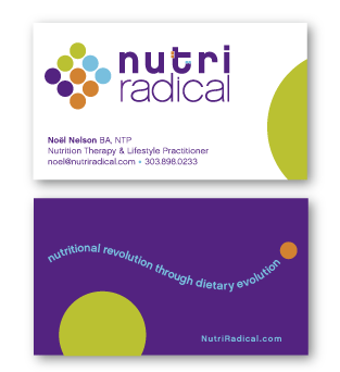 NutriRadical business card