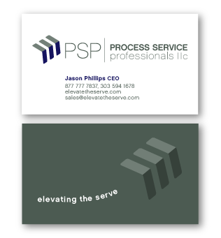 PSP business card