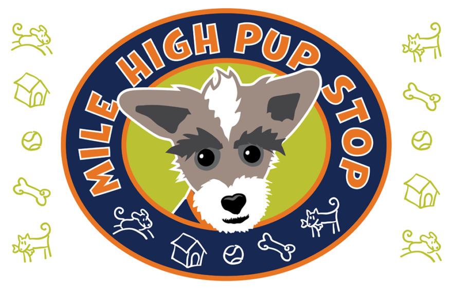 Mile High Pup Stop Banner