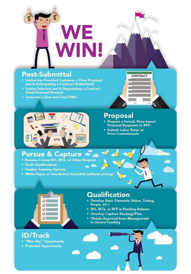 Business development infographic