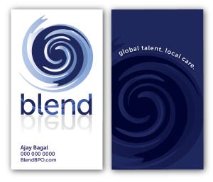 Blend BPO business card