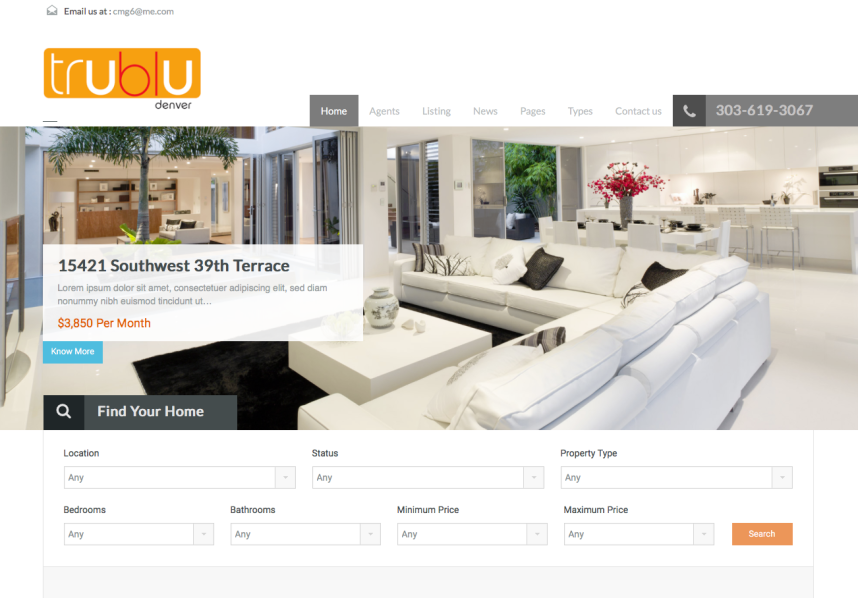 TruBlu Website