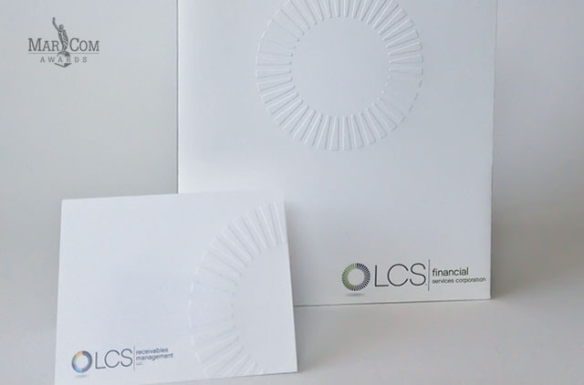 LCS financial Pocket Folder