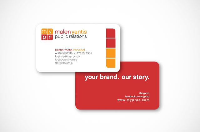 mypr business cards