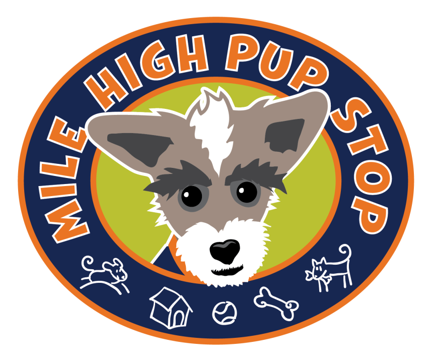 MILE HIGE PUP STOP LOGO