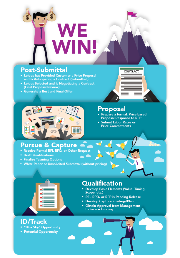 Business development infographic